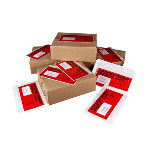 Dokumentenschutz für Versandkarton