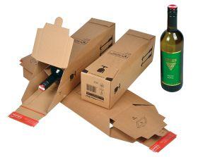 DHL zertifizierte Flaschenversandverpackung