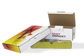 Versandkarton Fold-Box mit Design