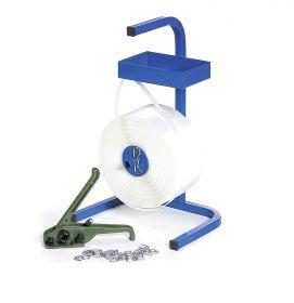 Umreifungsset 3 Umreifung mit Polyesterband und RX-Spanner