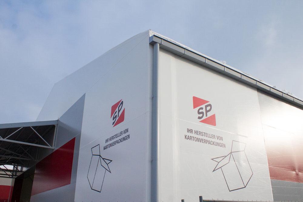 Neue Lagerhalle von SP-Verpackungen