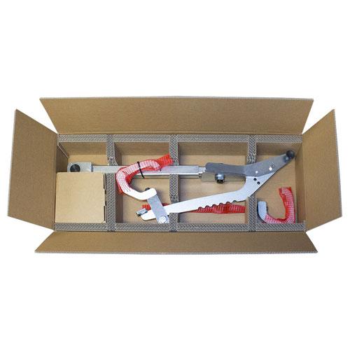 Werkzeugkarton mit Trennelementen