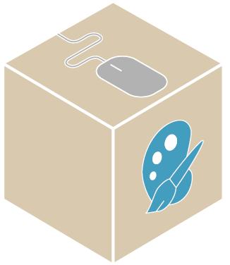 Karton mit individuell bedruckung